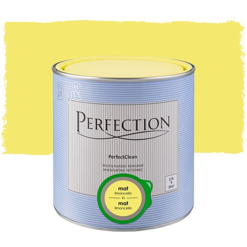 Perfection PerfectClean Muur & Plafond mat limoncello 2,5L