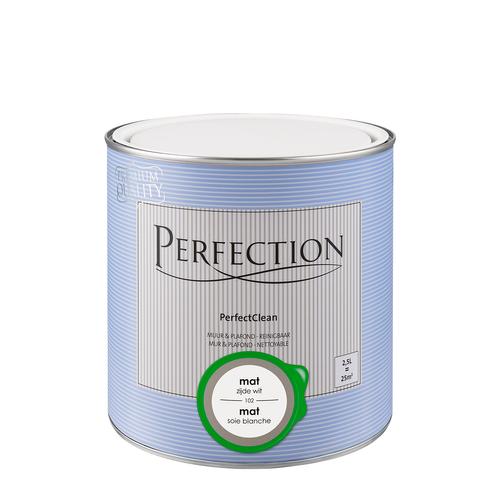 Perfection PerfectClean Muur & Plafond mat zijdewit 2,5L