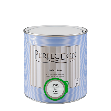 Peinture Perfection PerfectClean Mur & plafond mat minéRAL 2,5L