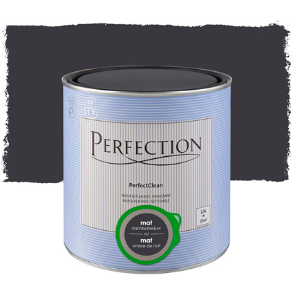 Perfection muurverf 'PerfectClean' nachtschad mat 2,5L
