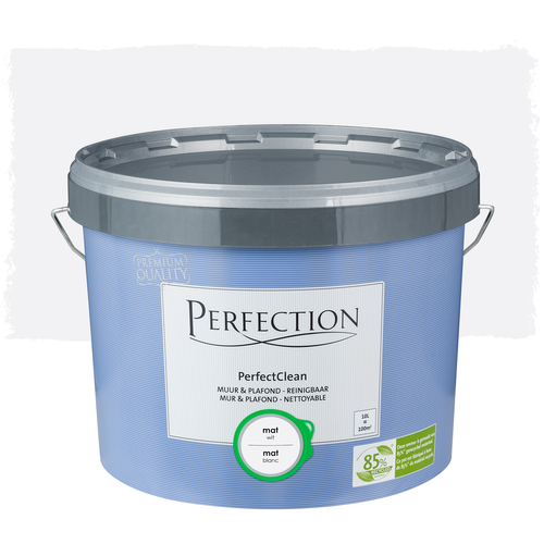 Perfection PerfectClean Muur & Plafond mat wit 10L