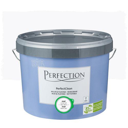 Peinture Perfection PerfectClean Mur & plafond mat blanc 10L