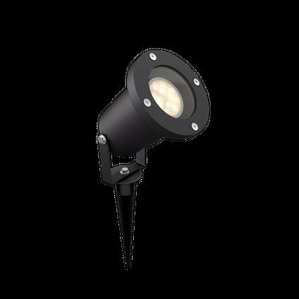 Massive prikspot LED Puled zwart