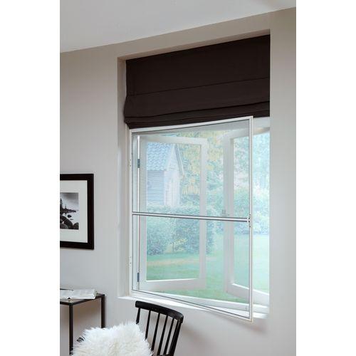 Bruynzeel vaste hor raam s500 85x105cm aluminium