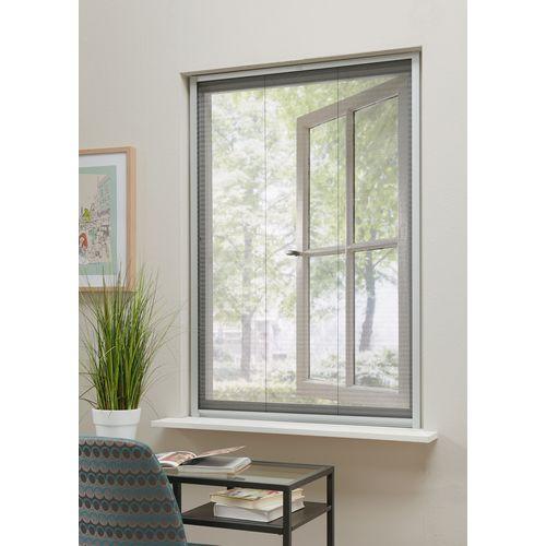 Bruynzeel plissé hor raam s500 103x155cm aluminium