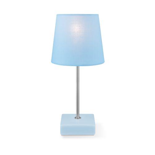 Lampe de table Home Sweet Home 'Arica' bleu 40 W