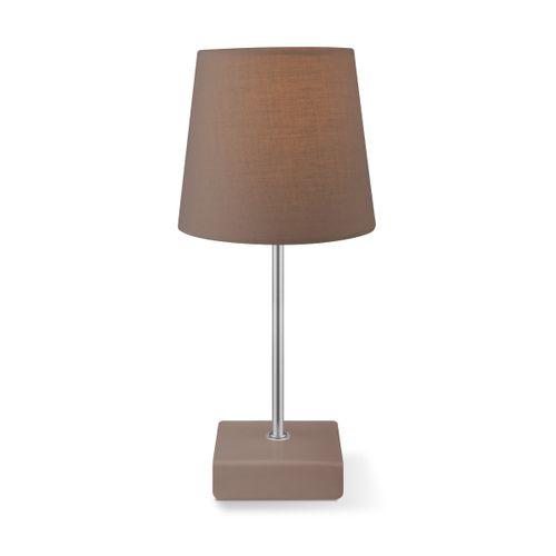 Lampe de table Home Sweet Home 'Arica' brun 40 W