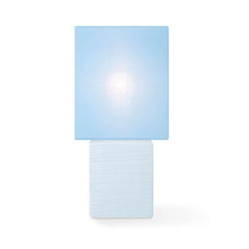 Lampe de table Home Sweet Home 'Charm' bleu 40 W