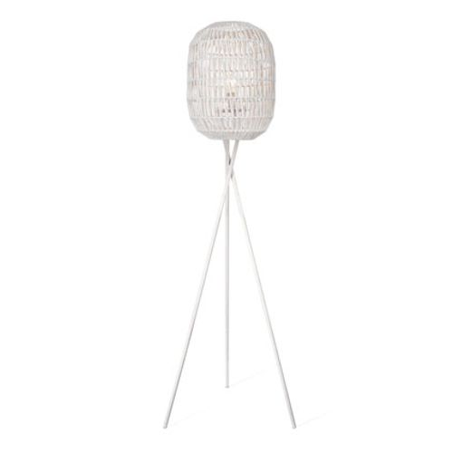 Home Sweet Home staanlamp 'Rope' wit 60 W