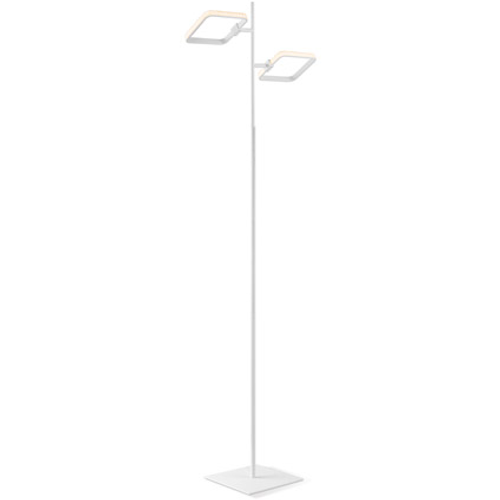 Lampadaire Home Sweet Home 'Cuby' blanc 10W