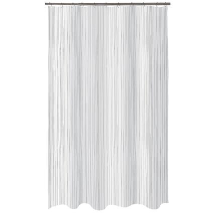 Spirella douchegordijn Raya wit 180cm