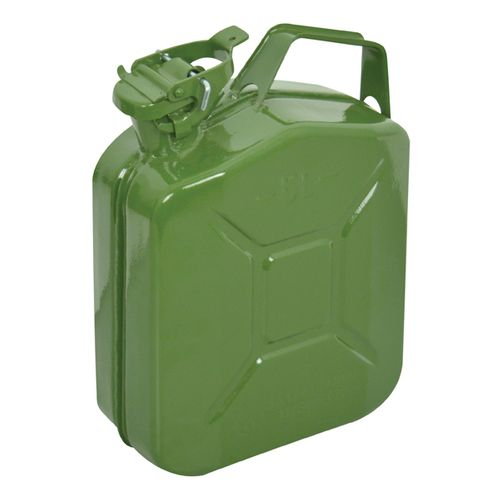 Jerrycan à essence Carpoint  métal vert 5L