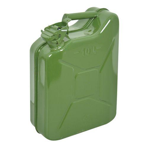 Carpoint benzinekan 10L groen metaal