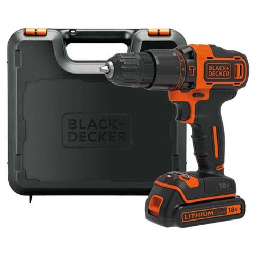 Black + Decker schroef- en klopboormachine 'BDCHD18S32' 18V