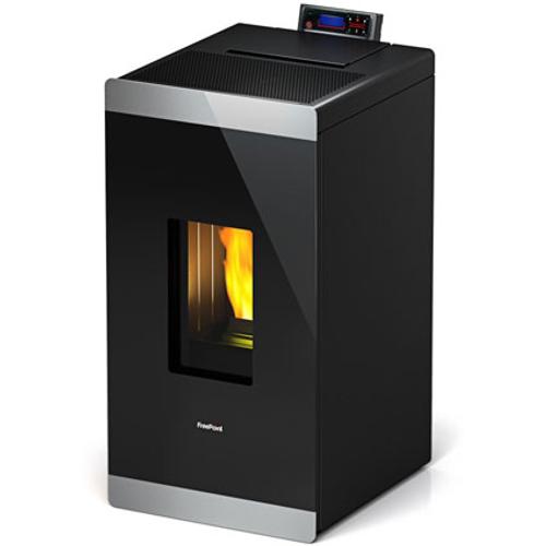 FreePoint pelletkachel 'Glass' 8,5 kW