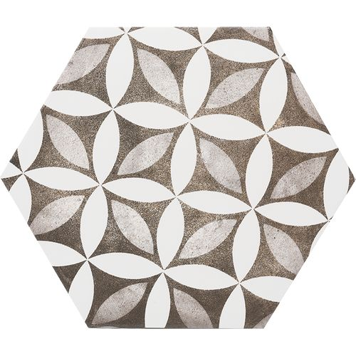 Wand- en vloertegel Esagono Idra 25x29cm