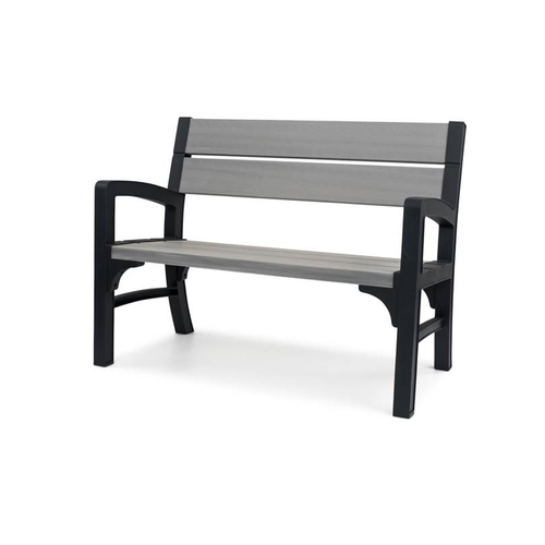 Banc de jardin Keter 'Montero 2 seater bench' polypropylène 120 cm