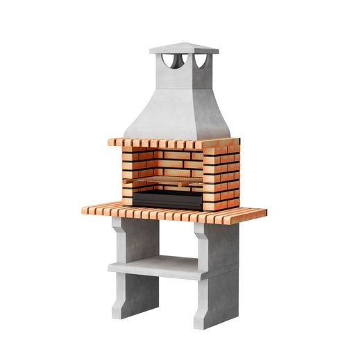 Tuozi stenen barbecue Napoles XL 121x58x207cm