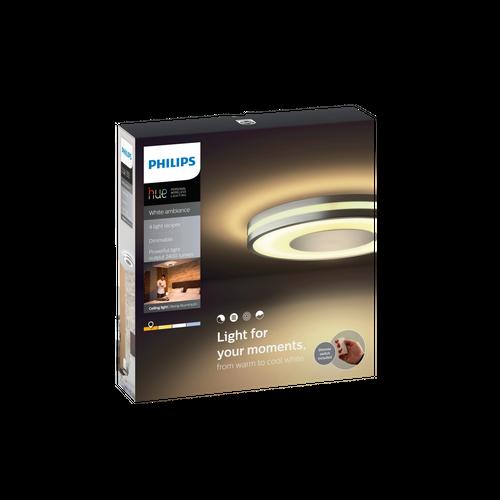 Philips Hue plafondlamp Being aluminium 32W