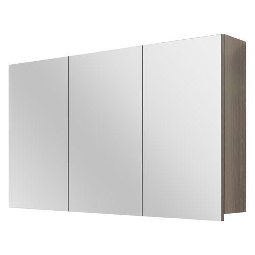 Differnz spiegelkast Style 100cm grijs eiken