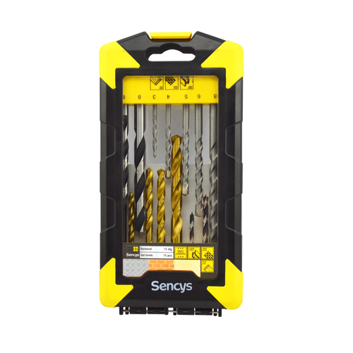 Sencys borenset – 15 stuks
