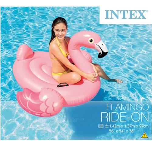 Intex opblaasbare flamingo 142cm