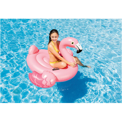 Flamant rose gonflable Intex 142cm
