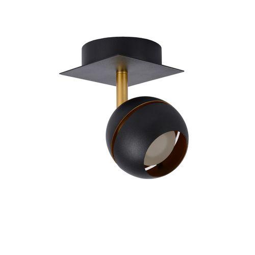 Spot LED Lucide Binari noir 4,5W