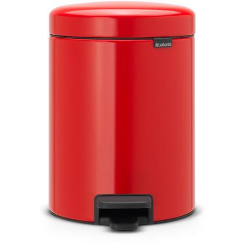 Poubelle à pédale Brabantia 'newIcon' passion red 5 L