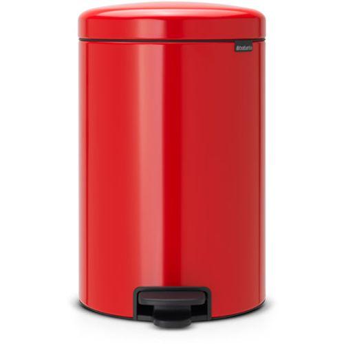 Poubelle à pédale Brabantia 'newIcon' passion red 20 L