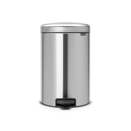 Brabantia pedaalemmer 'newIcon' matt steel 20 L
