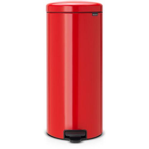 Poubelle à pédale Brabantia 'newIcon' passion red 30 L