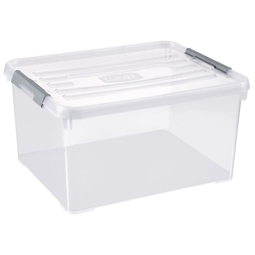 Allibert opbergbox Handy Plus 35L transparant