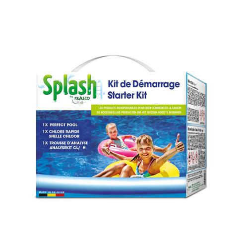 Splash starterskit voor zwembad