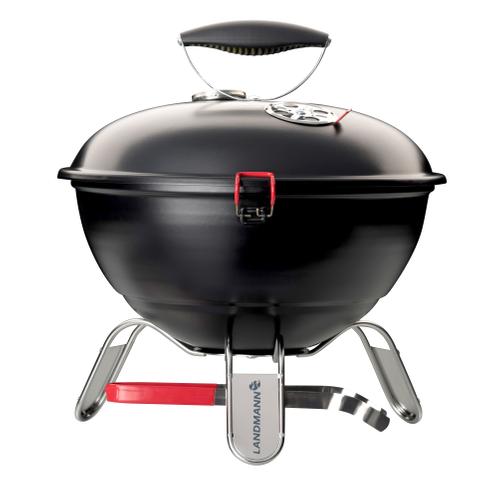 Landmann tafelbarbecue houtskool Piccolino zwart