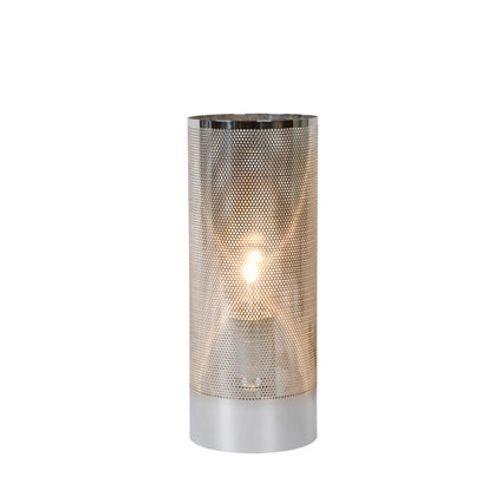 Lampe à poser Lucide 'Beli' chrome 60 W