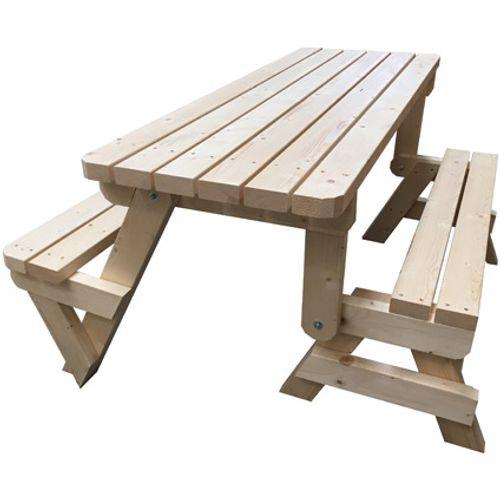 Picknicktafel bouwpakket inklapbaar