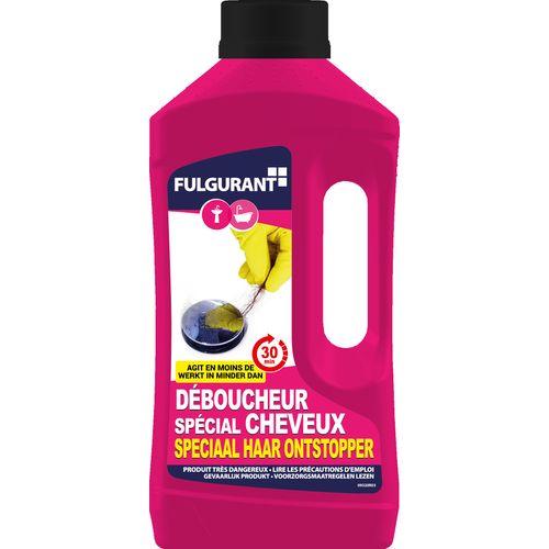 Déboucheur Fulgurant 'spécial cheveux' 800 ml