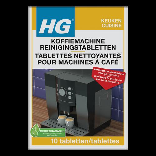 Tablette nettoyante universelle pour machines à café HG - 10 pcs