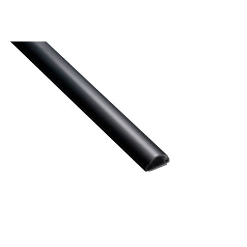 Chacon zelfklevend kabelbaan D-Line halfcirkel 16x8mm 2m zwart