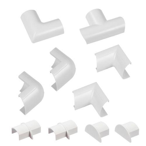 D-Line accessoirepakket voor kabelgoten 30x15mm kliksysteem wit