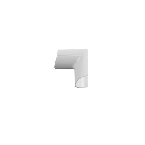 Chacon opklikbare binnenhoeken D-Line 30x15mm  wit - 2stk