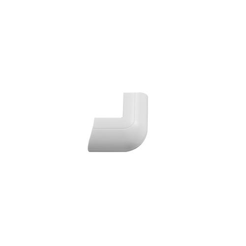 Chacon opklikbare buitenhoeken D-Line 30x15mm wit - 2stk