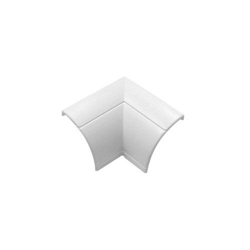 Goulotte d'angle int. Chacon D-Line 22x22mm blanc - 2 pcs