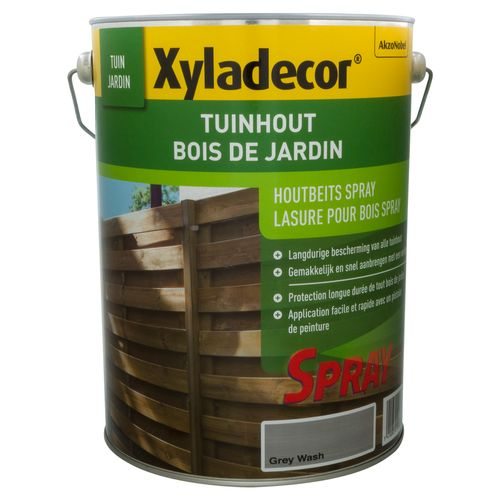 Xyladecor houtbeits 'Tuinhout' grey wash 5L