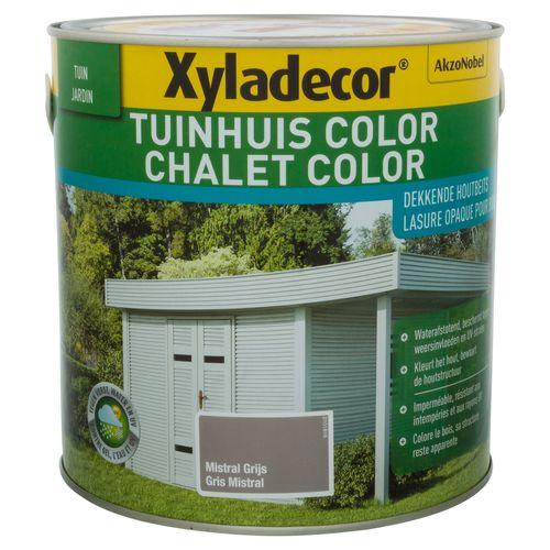 Xyladecor houtbeits 'Color' mistral grijs 2,5L