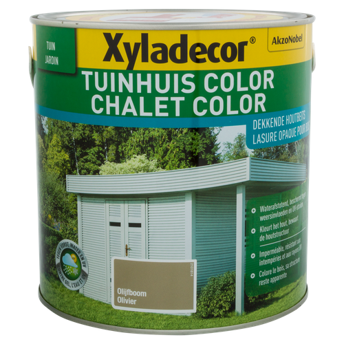 Lasure Xyladecor 'Color' olivier 2,5L