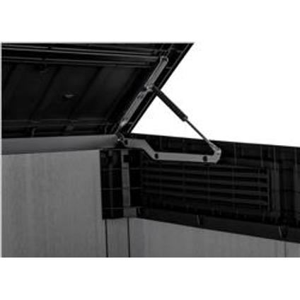 Keter opbergkast Grande Store grijs 2000L 190x133x110cm (BxHxD)