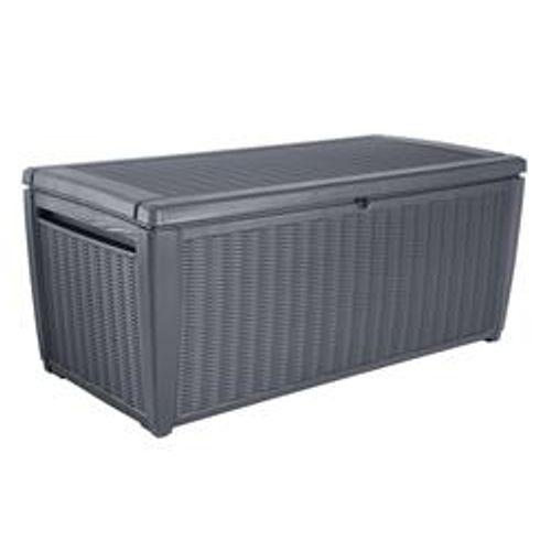 Keter tuinkussen opbergbox Sumatra antraciet 511L 145x73x64cm (BxHxD)