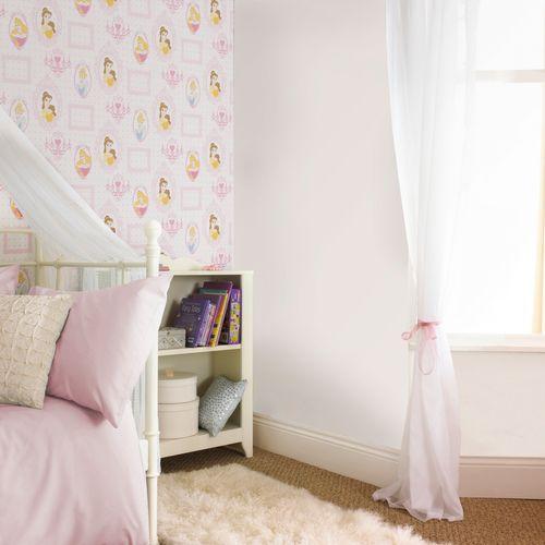 Disney Papierbehang Princess Frames meerkleurig
